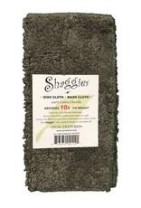 Shaggie Shaggie Dish Cloth, Cracked Pepper, S/2