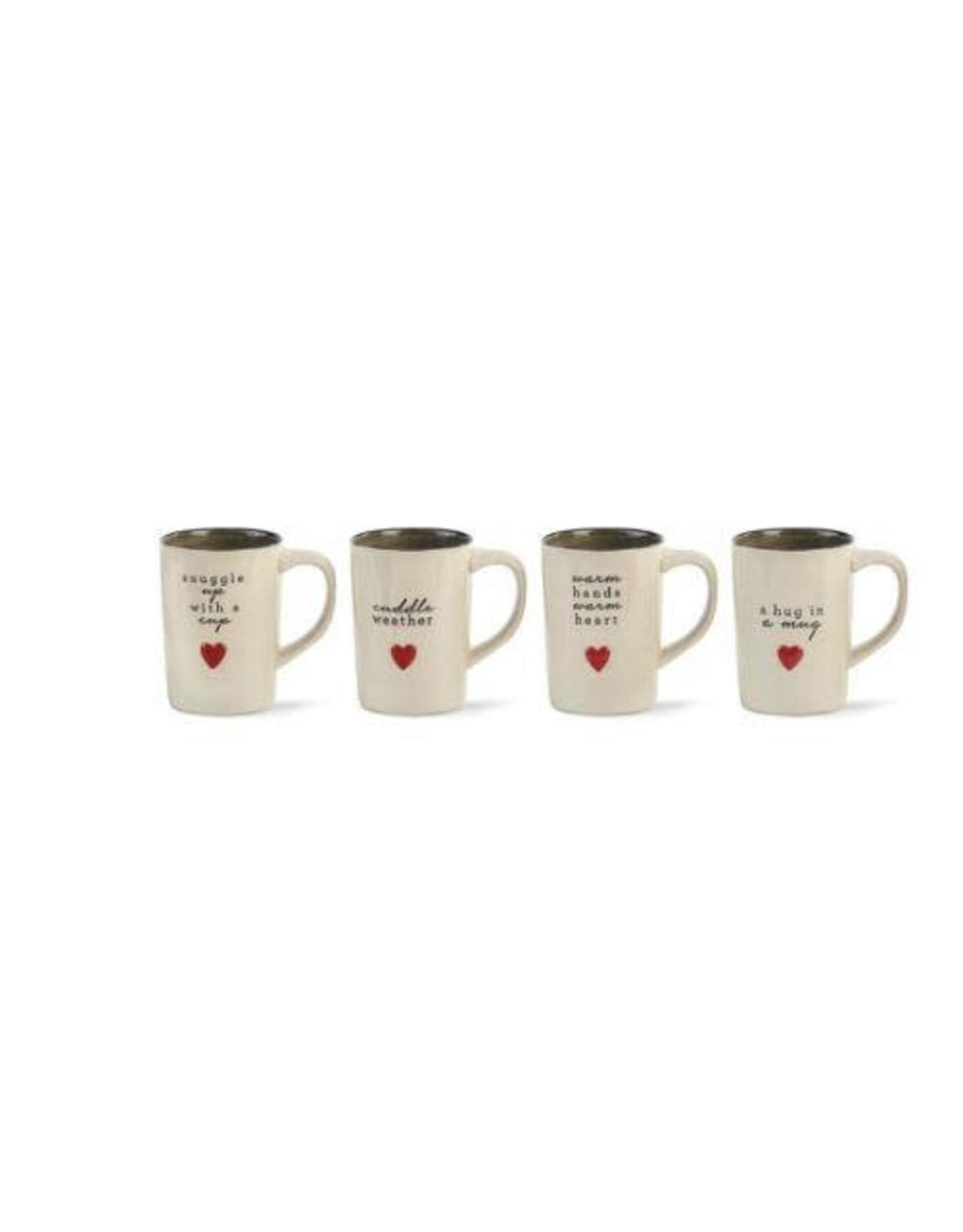 Demdaco Ceramic Cuddle Mug