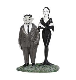 Department 56 Gomez and Morticia Addams