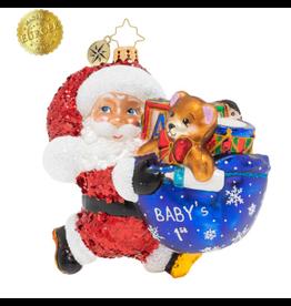 Radko Hurry Santa! It's Baby's 1st Christmas!