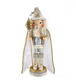 Kurt S. Adler Gold Wizard Nutcracker