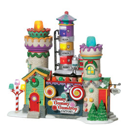 Department 56 Yummy Gummy Gumdrop Factory