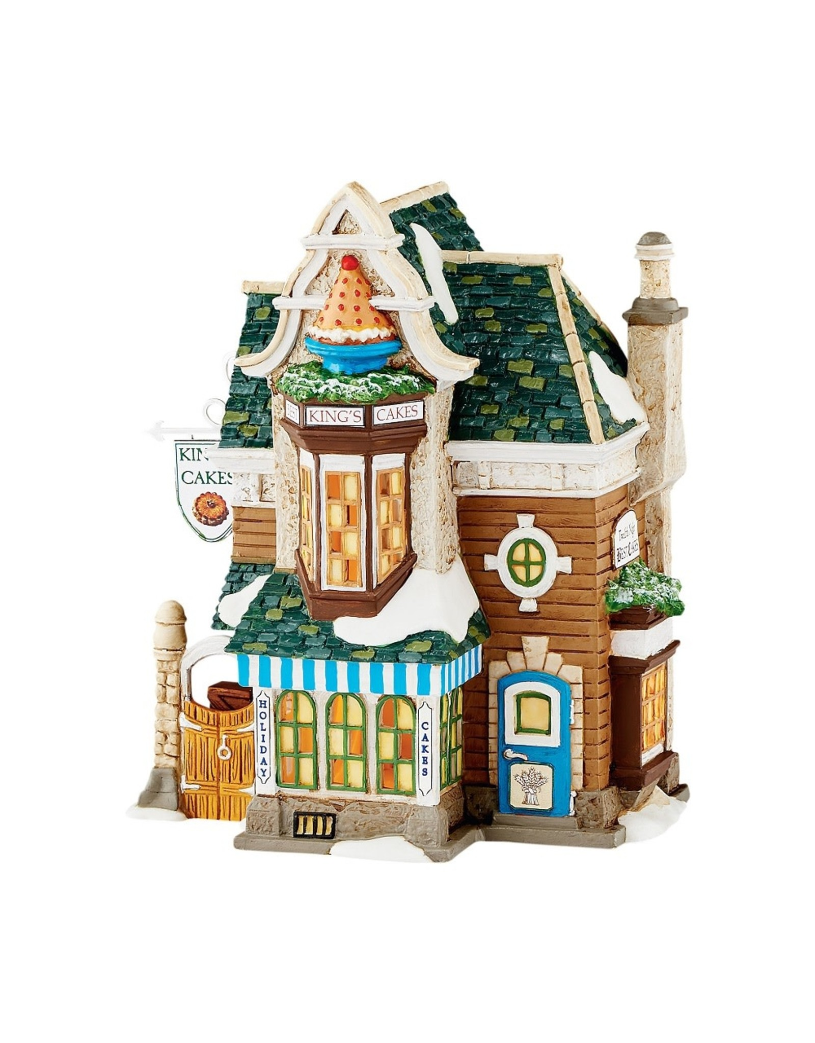 Department 56 King's Cakes