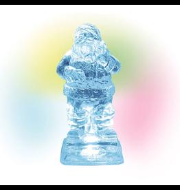 Department 56 Lit Ice Castle Santa