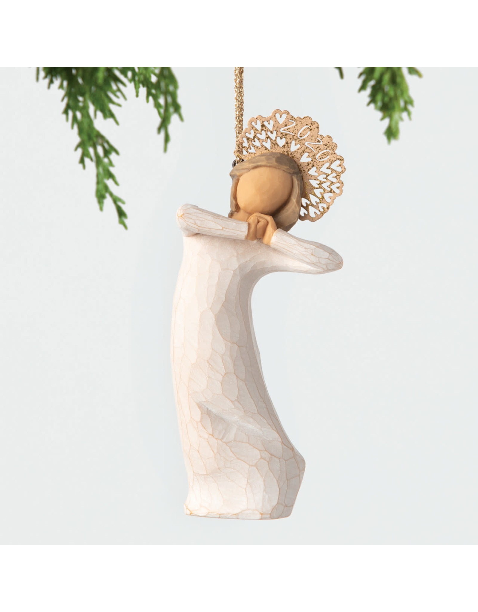 Willow Tree 2020 Crown Ornament