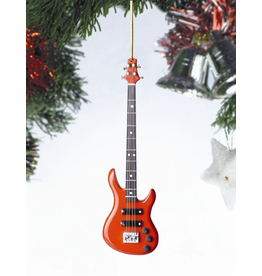 Broadway Gift Co Red Bass Guitar