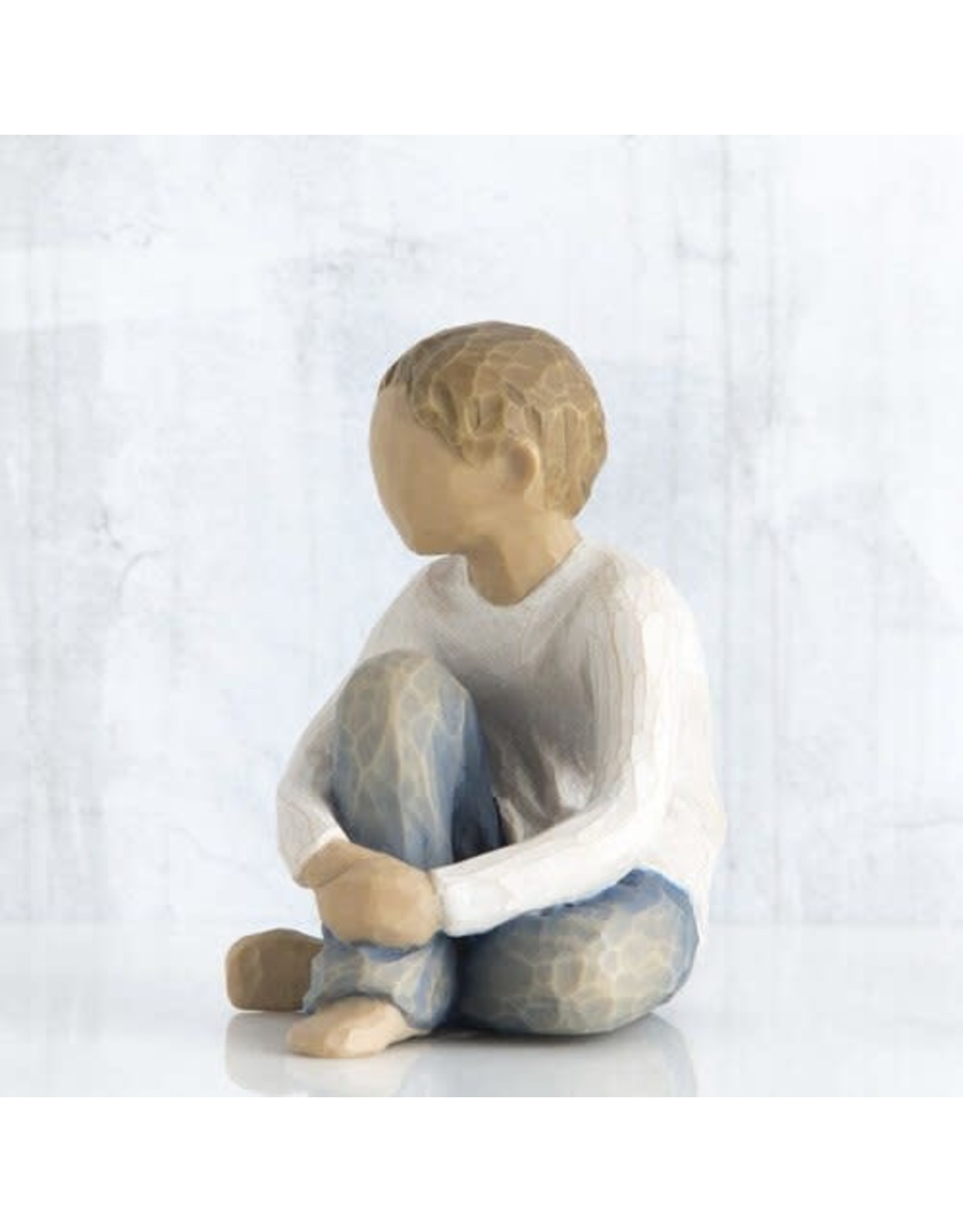 Willow Tree Caring Child - Boy