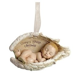 Roman Baby's First Ornament