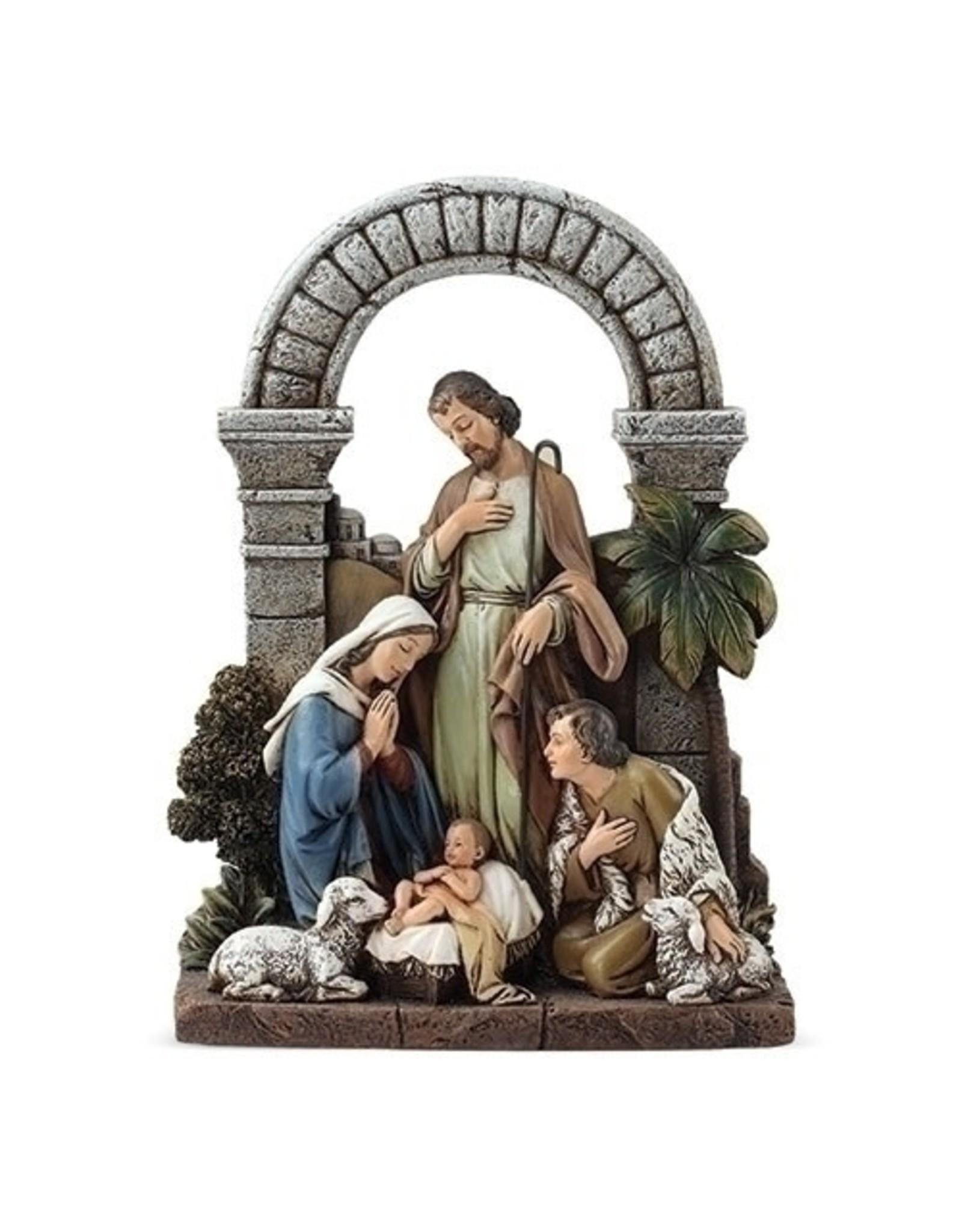 Roman Holy Family with Shepherd