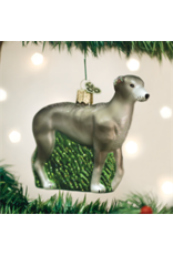 Old World Christmas Greyhound Ornament