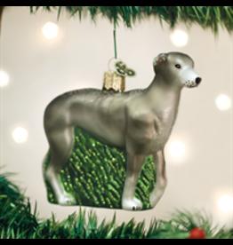 Old World Christmas Greyhound