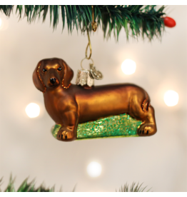 Old World Christmas Dachshund Ornament