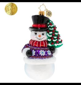 Radko Sweater Weather Snowman