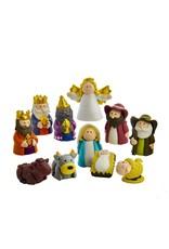 Kurt S. Adler Claydough Nativity