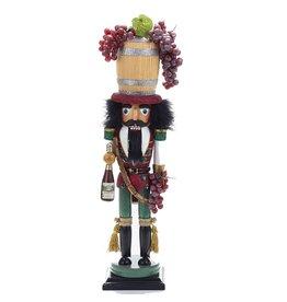 Kurt S. Adler Wine Barrel Nutcracker