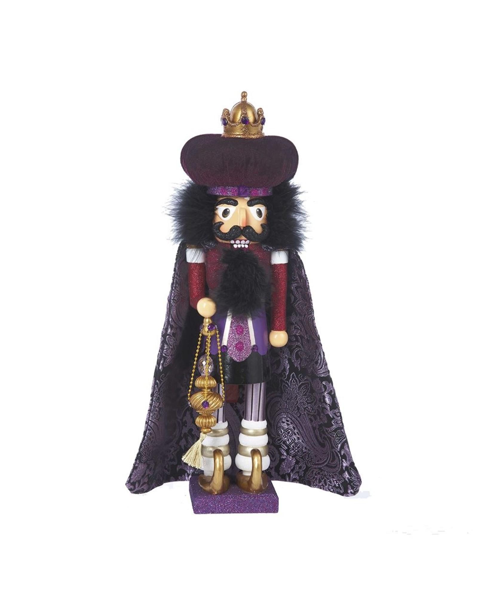 Kurt S. Adler Purple Wiseman Nutcracker
