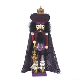 Kurt S. Adler Purple Wiseman Nutcracker