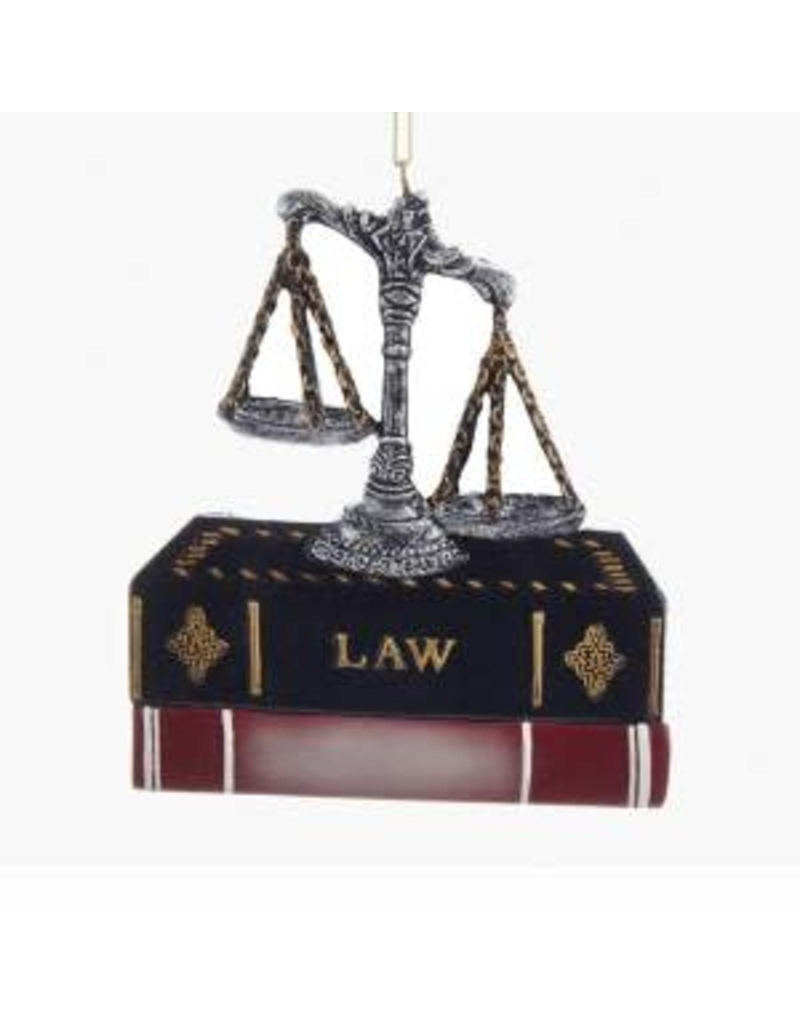 Kurt S. Adler Lawyer Ornament
