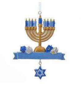 Kurt S. Adler Hanukkah Menorah Ornament