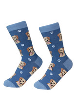 E&S Pets Yellow Labrador Socks