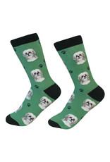 E&S Pets Tan Shih Tzu Socks