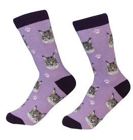E&S Pets Main Coon Cat Socks