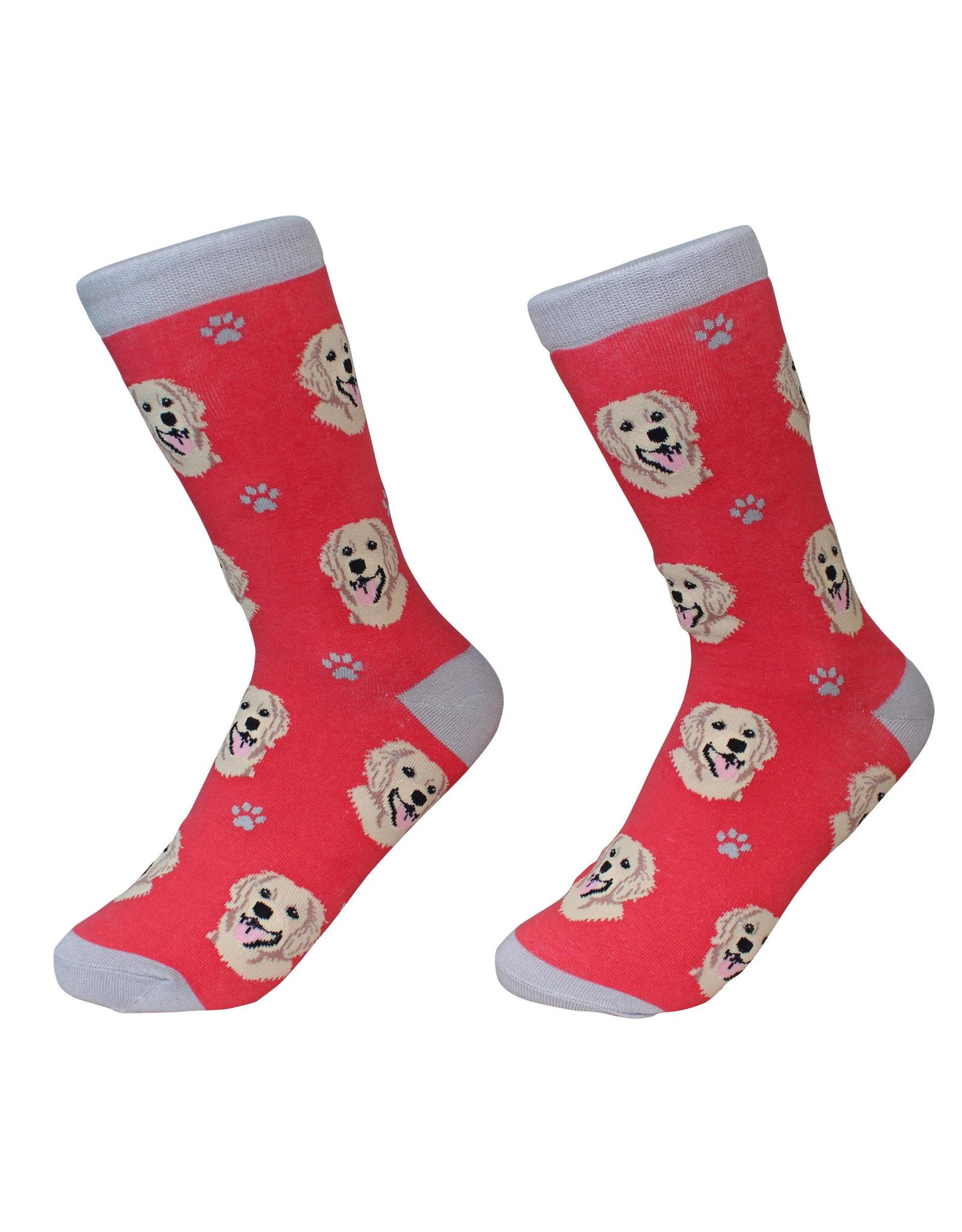 E&S Pets Golden Retriever Socks