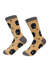 E&S Pets Black Labradoodle Socks