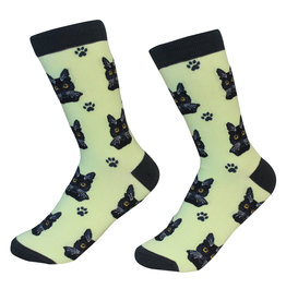 E&S Pets Black Cat Socks