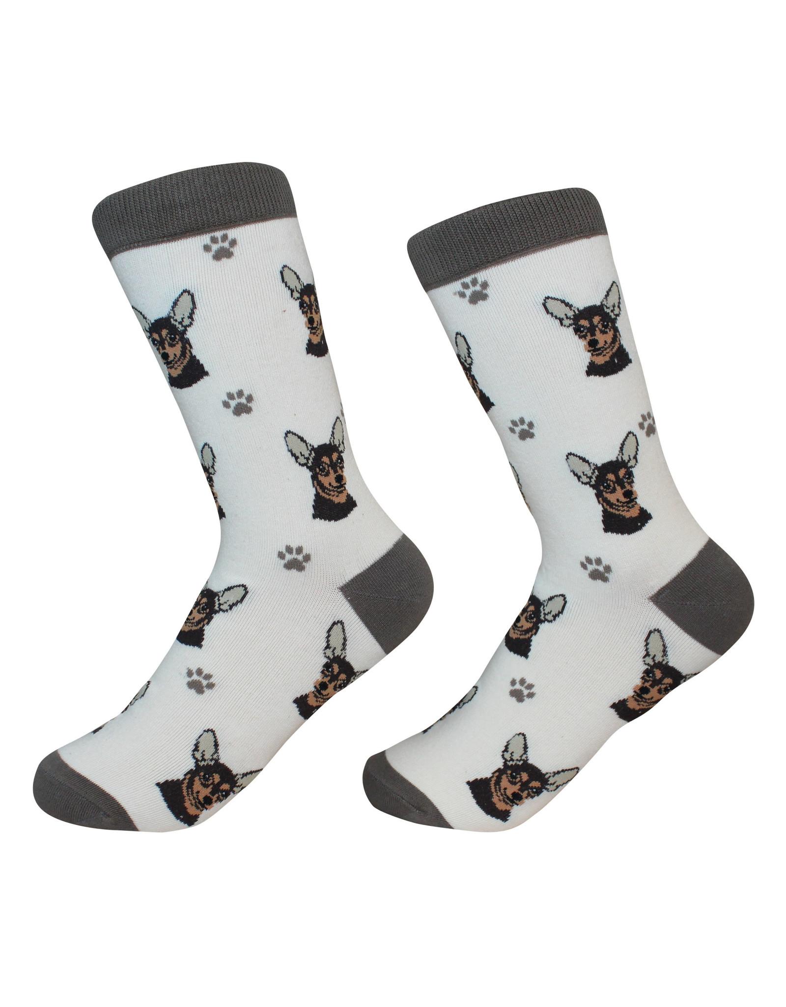 E&S Pets Black Chihuahua Socks