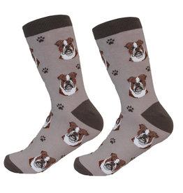E&S Pets Bulldog Socks