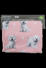 E&S Pets Bichon Frise Pajama Bottoms