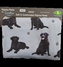 E&S Pets Black Labrador Pajama Bottoms