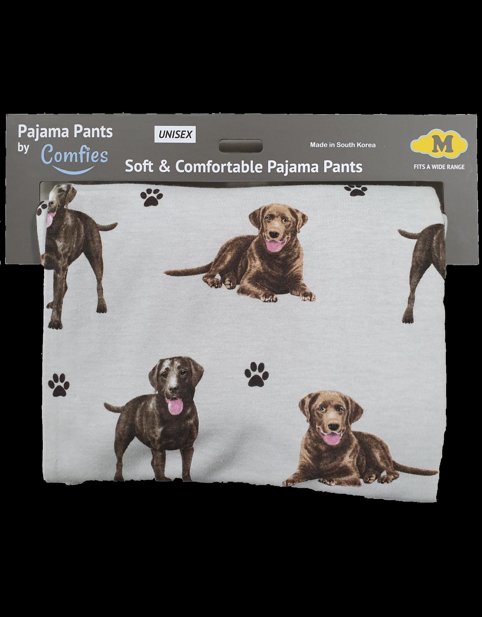 E&S Pets Chocolate Labrador Pajama Bottoms