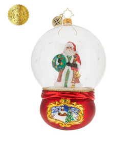 Radko Santa's Snowy World