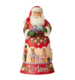 Jim Shore Toyland Santa