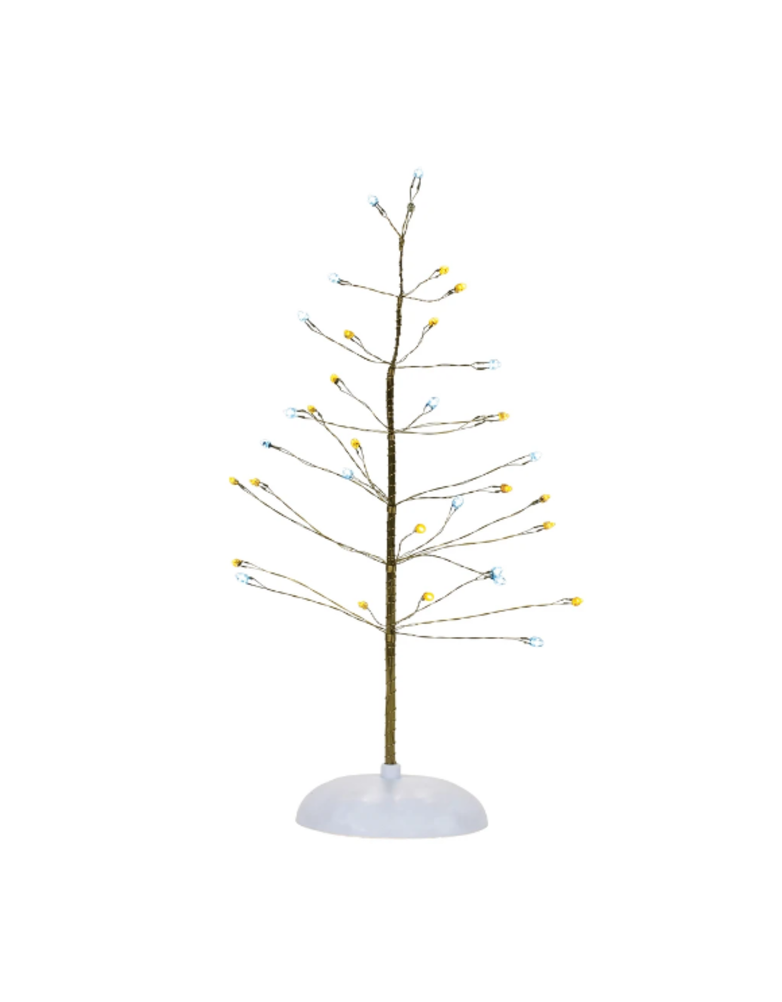 Department 56 Silver & Gold Twinkle Brite Tree