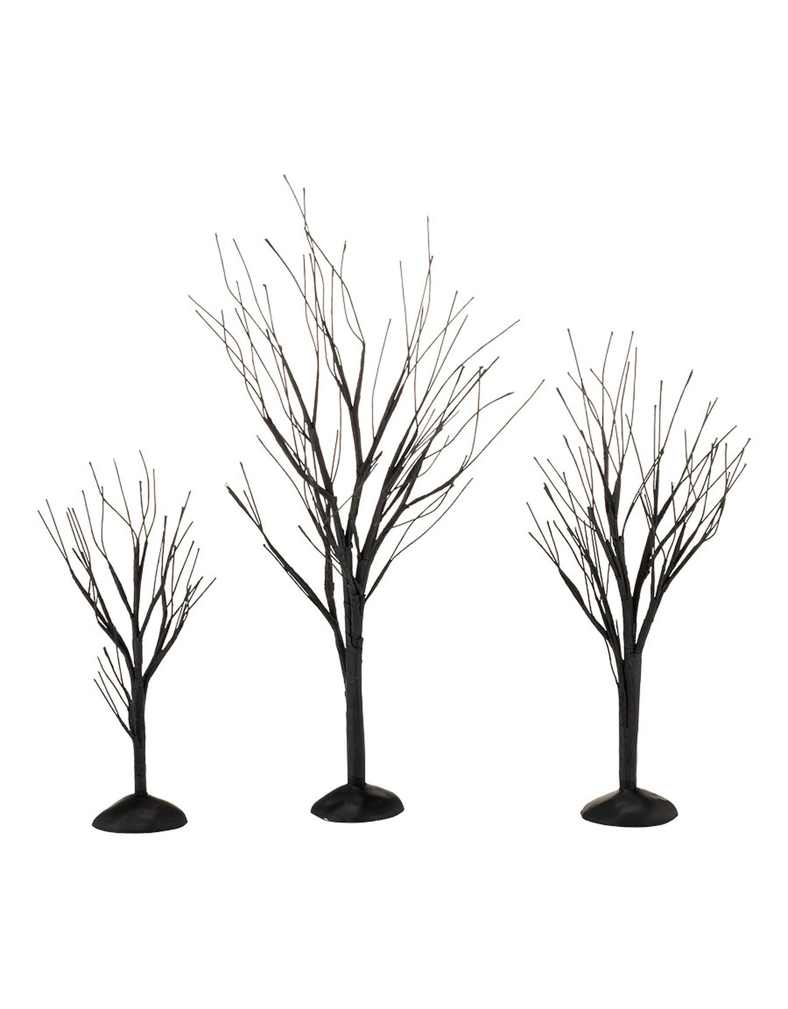 Department 56 Black Bare Branch Trees