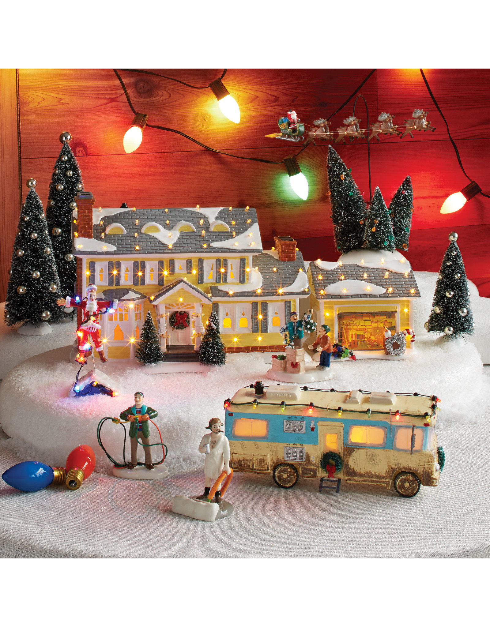 Department 56 The Griswold Holiday Garage