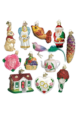 Old World Christmas Bride's Ornament Collection