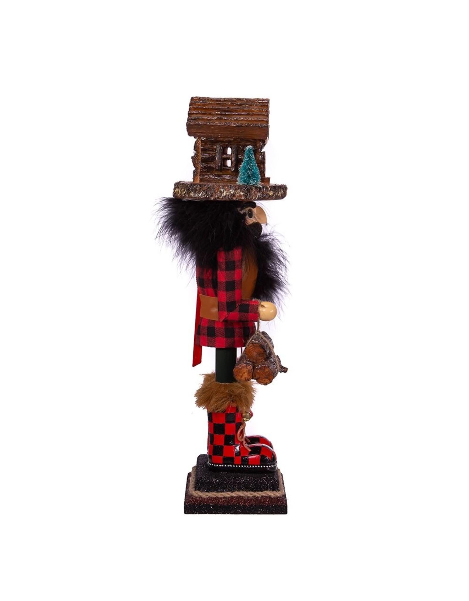 Kurt S. Adler Lodge Nutcracker w/ Cabin Hat