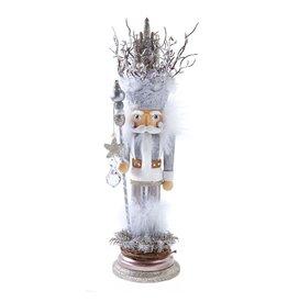 Kurt S. Adler White Castle King Nutcracker