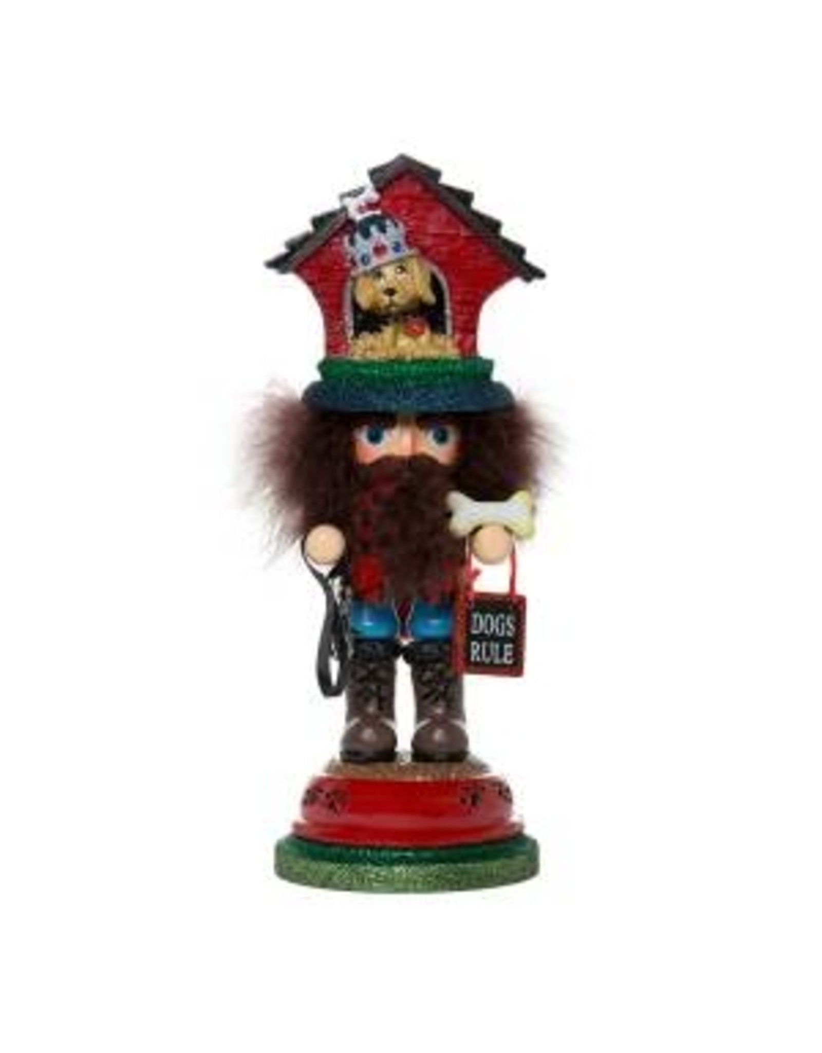 Kurt S. Adler Doghouse Hat Nutcracker