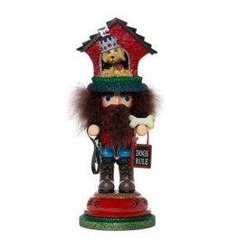 Kurt S. Adler Doghouse Hat Nutcracker