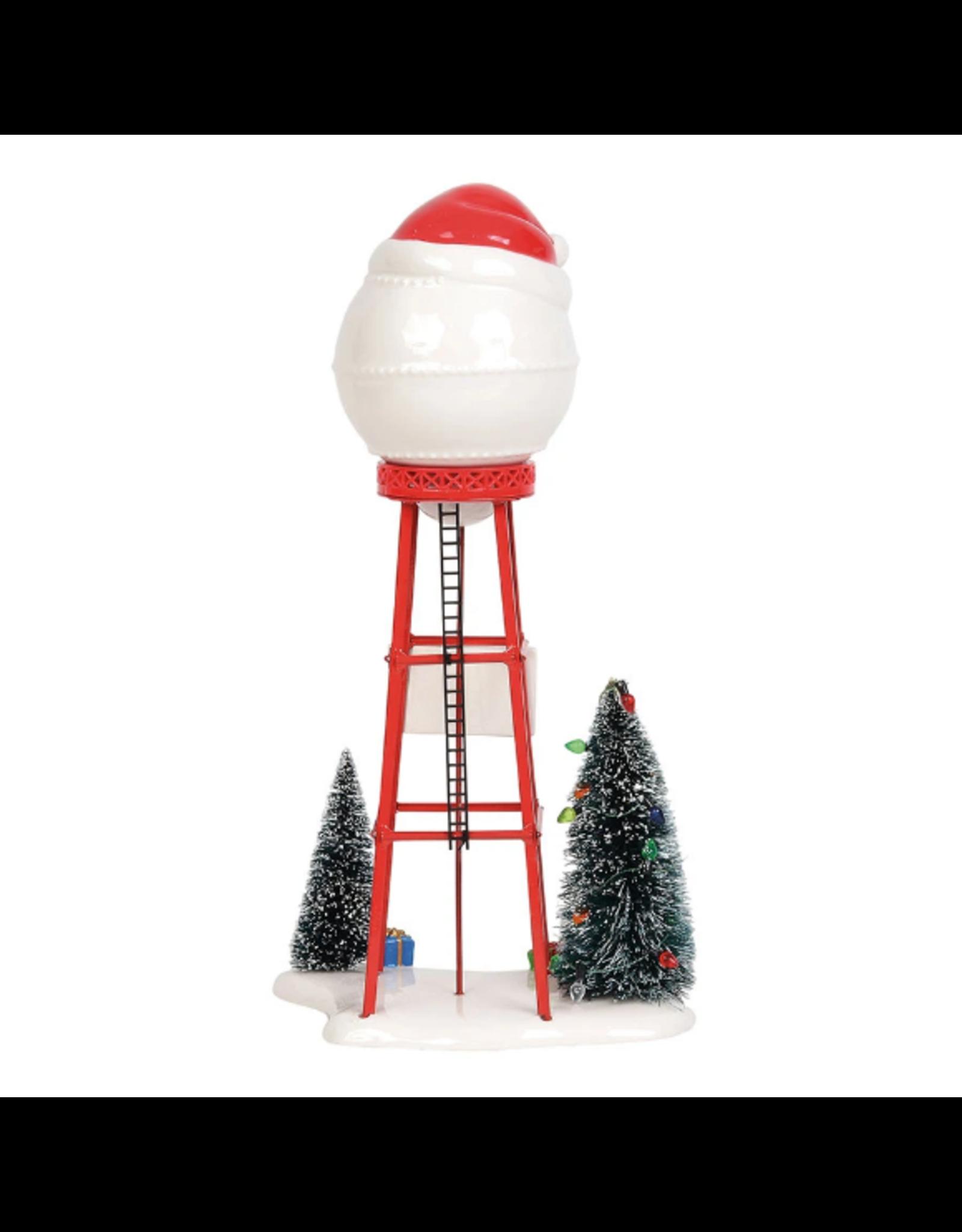 Department 56 Santa Water Tower