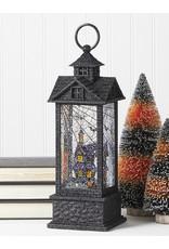 RAZ Haunted House Shimmer Lantern