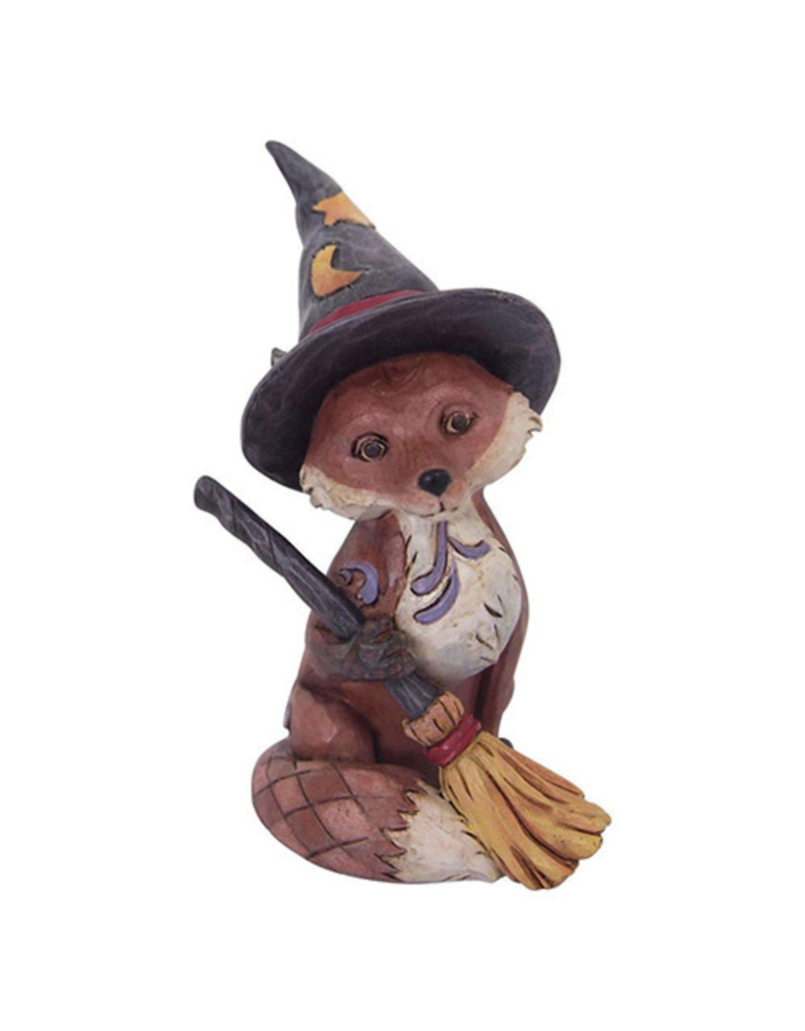Jim Shore Fox in Witch Hat Mini