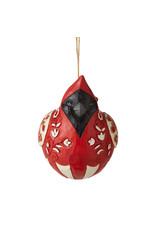 Jim Shore Roly Poly Cardinal