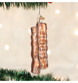 Old World Christmas Bacon Strips Ornament