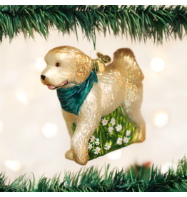 Old World Christmas Doodle Dog Ornament